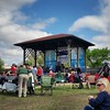 Sun is out at juke joint fest! Killing time with great music until @bigdamnband starts at @newroxyclarksdale later.