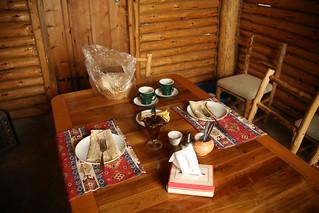 Breakfast at Harsnadzor Hotel