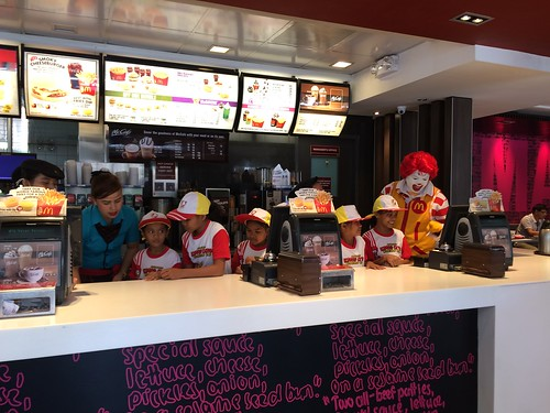McDonald's Kiddie Crew Workshop 2016 counter photo