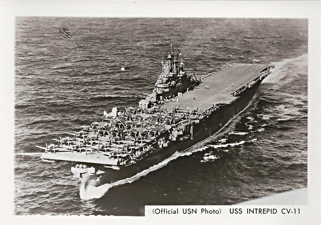 Photo:USS Intrepid (CV-11), Aircraft Carrier By photolibrarian