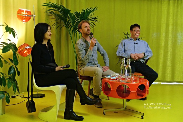 "Prof Michael Puett And Christine Gross-Loh: ""The Path: What Chinese Philosophers Can Teach Us About The Good Life"" at @SecondHomeLDN from RAW _DSC9918"