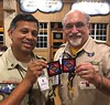 North Florida Council NYLT patches being shipped to South Florida Council to @asian_scout_man David Chen. #nylt #nfcnylt #nyltcdc