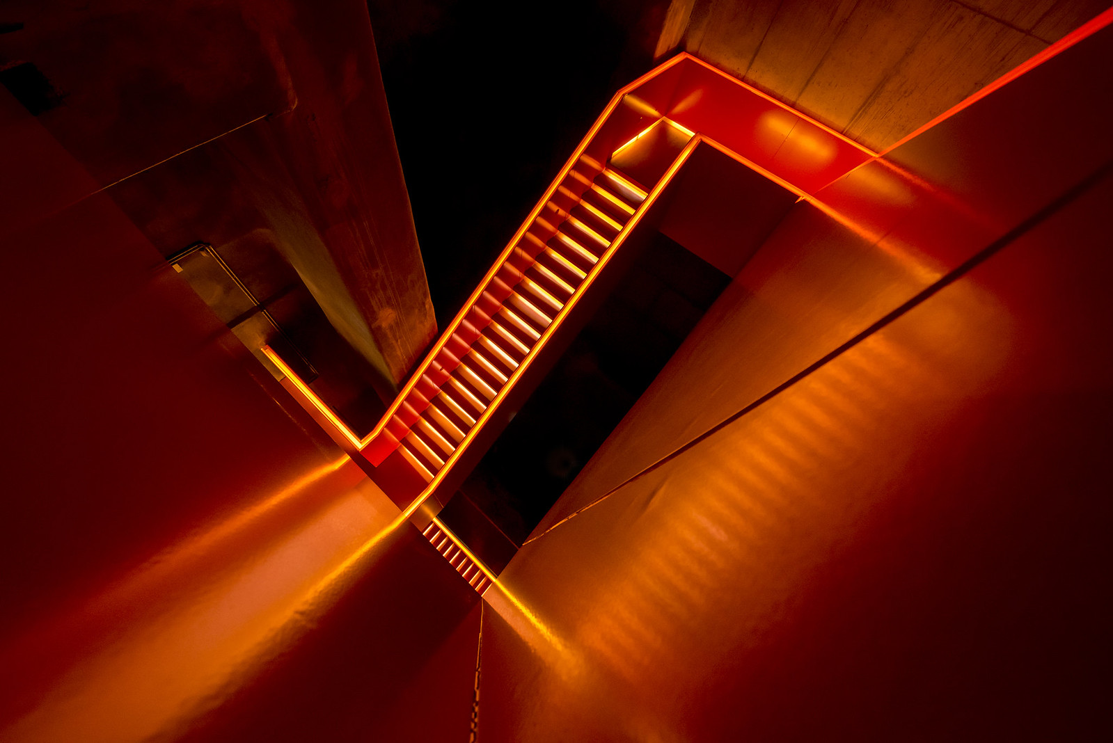Stairwork orange by Carsten Heyer