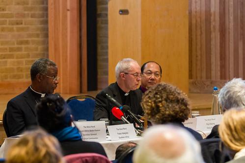Primates Meeting Press Conference Canterbury 2016