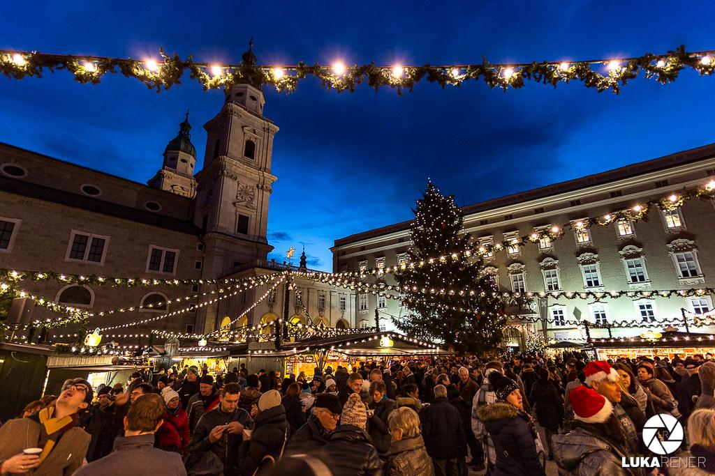 Predbožični Salzburg