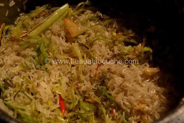 Boulettes de Viande au Curry Rouge Riz aux Poireaux © Ana Luthi Tous droits réservés 06