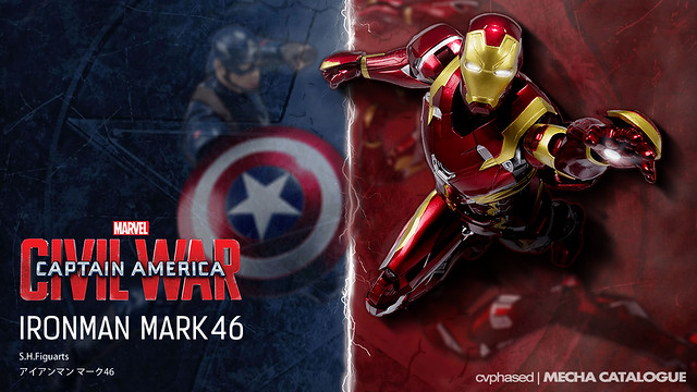 S.H.Figuarts Iron Man Mark 46