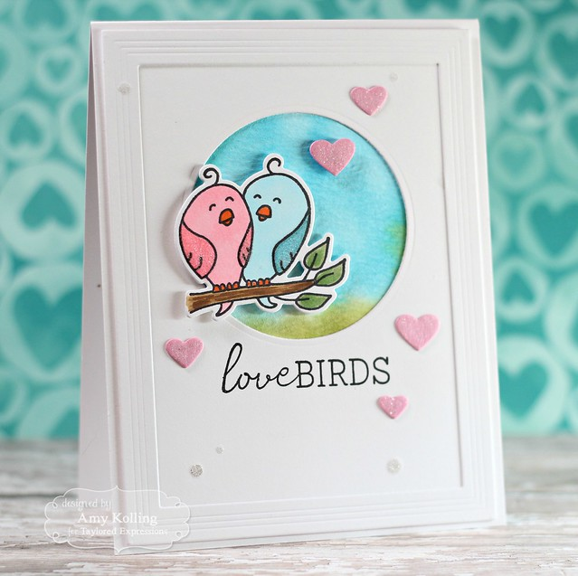 Love Birds by Amy Kolling