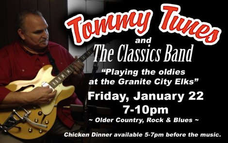 Tommy Tunes 1-22-16