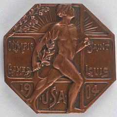 St. Louis 1904 Summer Olympics Participation Medal obverse