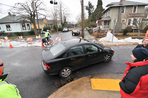SE Clinton traffic diversion project-49