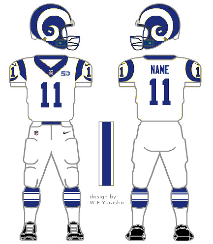 What the L.A. Rams uniforms ought to look like – William F. Yurasko f7d9f8a32