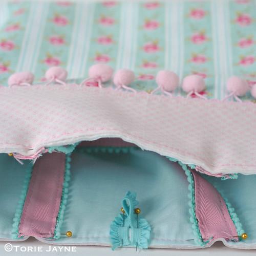 Pretty tote sewing tutorial 21