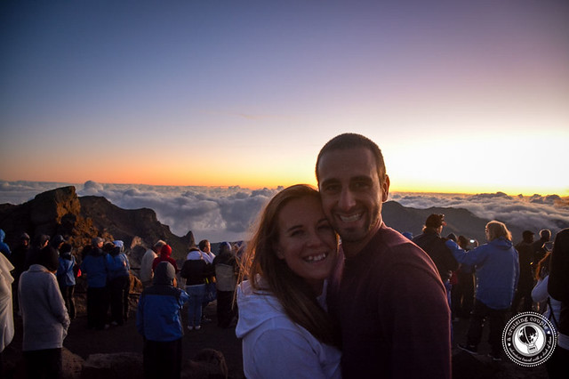 A Cruising Couple at Mount Haleakala