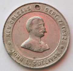 Sullivan-Corbett medalet reverse