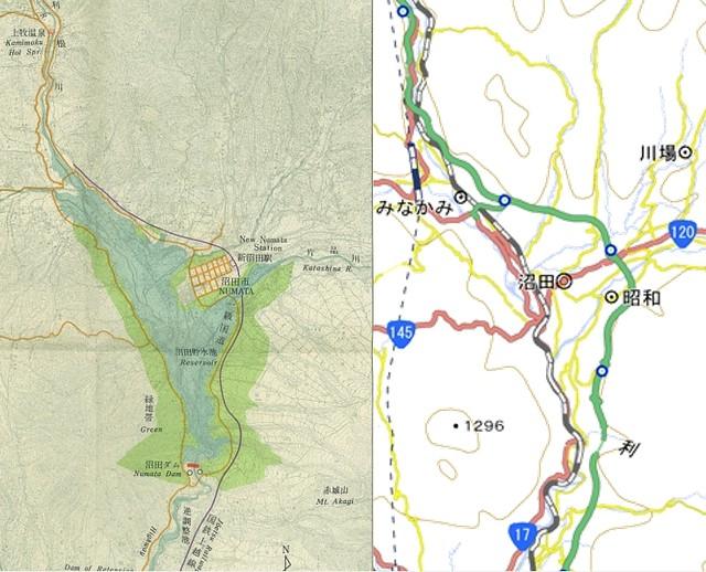 沼田ダムと関越自動車道 (3)