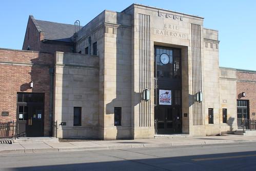 Jamestown Erie Railroad Station