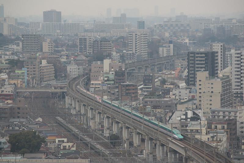 Tokyo Train Story 東北新幹線 2016年2月6日