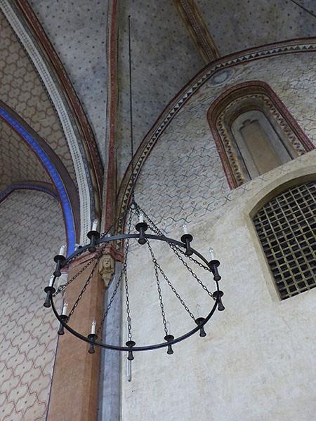 lustre église