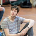 Dominic Marsh in rehearsals for I Am Thomas, Copperfield Rehearsal Rooms