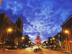 Right now at #Marquette.