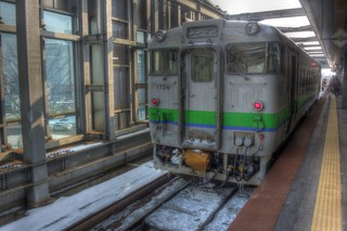 Obihiro Station on FEB 12, 2016 (1)