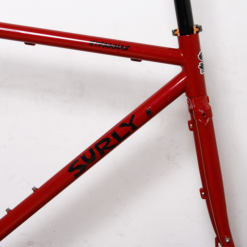 Surly / Straggler Frame Set Painted By Swamp Things
