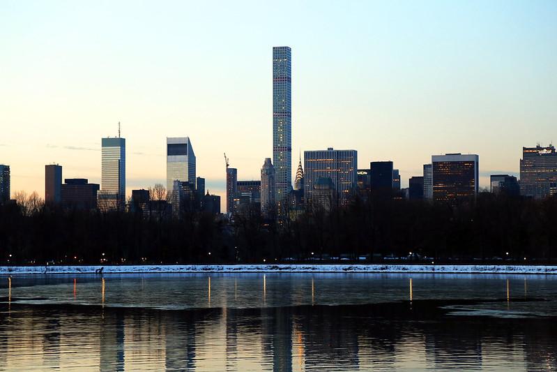 skyline from central park new-york
