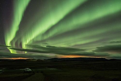 Aurora near Mývatn - Iceland