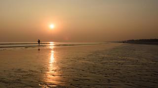 Sunset at Tajpur Beach