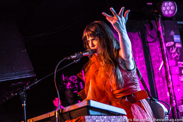 Le Butcherettes @ Webster Hall, NYC 3.7.16-5