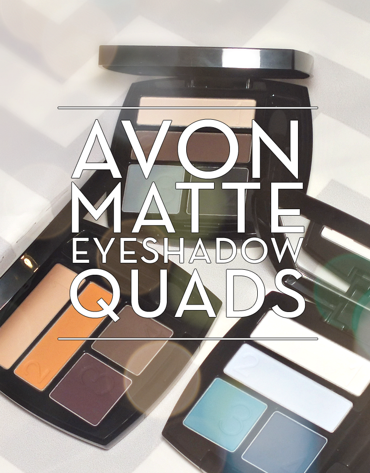 Avon Matte Eyeshadow Quads (3)