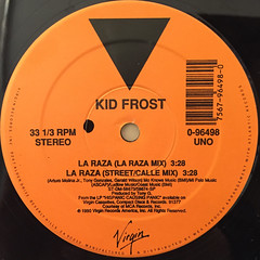 KID FROST:LA RAZA(LABEL SIDE-A)