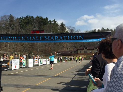 Asheville Half Marathon 2