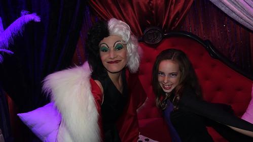 Cruella de Vil at Club Villain at Disney's Hollywood Studios in Disney World (120)