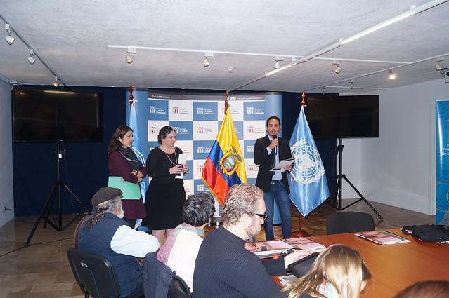 Ecuador. IFCD Workshop. 8-9 March 2016.