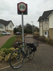No Cycling On The Cycle Path