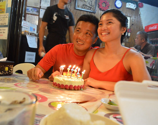 Birthday dinner at Boracay Talipapa