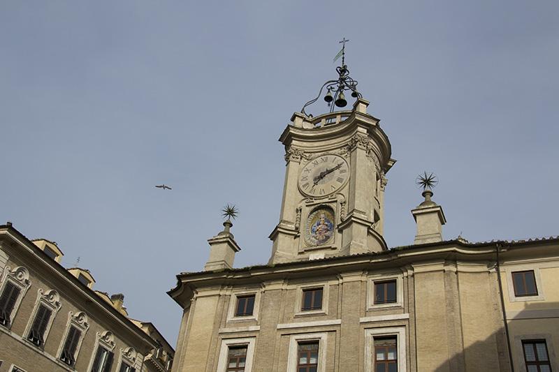 Rome Piazza dell'Orologio