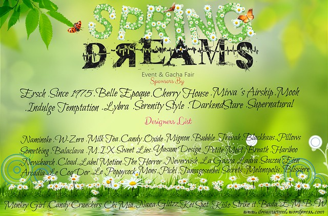 Dreams April 1st Round OPEN
