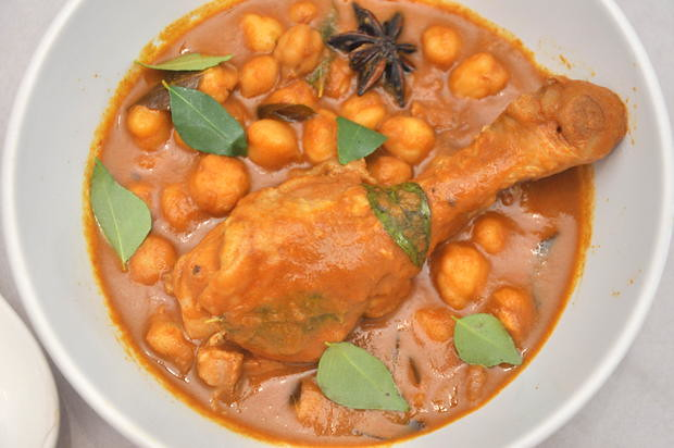 Chickpea Curry Chicken1