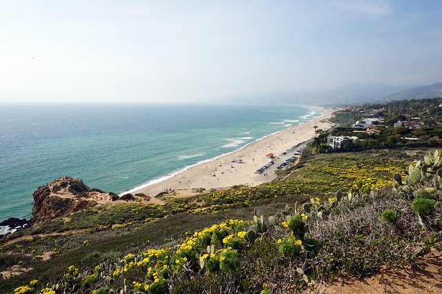Westward Beach from Point Dume State Park, Mailbu, California