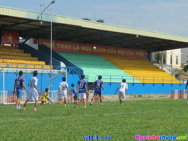 Lịch thi đấu bóng đá nam sinh viên IUH 2016