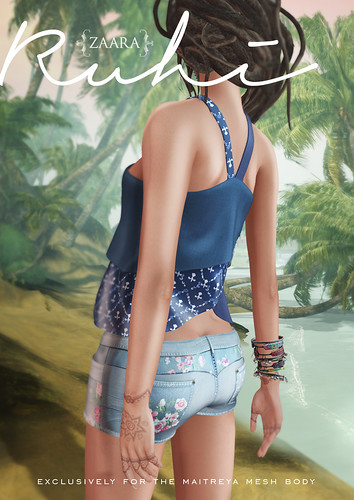 Zaara : Patchwork shorts and layered tops for C88 April