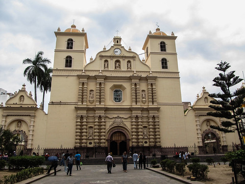 Tegucigalpa: la cathédrale Saint Michel Archange