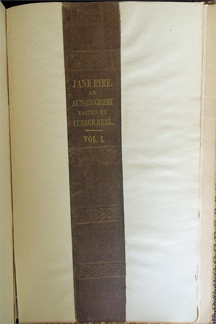 Jane Eyre original binding
