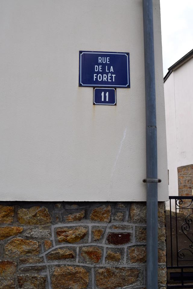 Rue de la Foret, Brittany | www.rachelphipps.com @rachelphipps