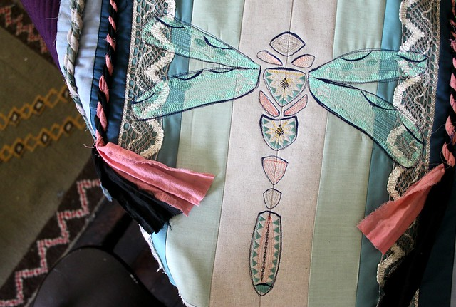 Dragonfly Stitching