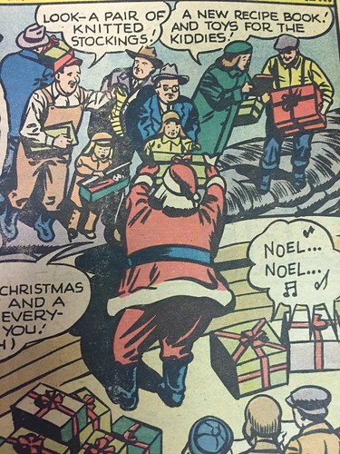 """Christmas with the Super-Heroes"", DC Comics, 1975 (17)"