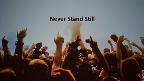 Lenovo: Never Stand Still